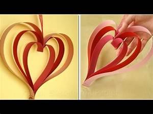Herz Aus Papier Basteln : herz basteln basteln mit papier bastelideen geschenk ~ Lizthompson.info Haus und Dekorationen