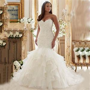 Sexy Off Shoulder Fitted Bridal Gowns Luxury Lace ...