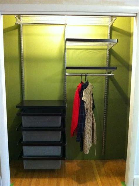 elfa closet system  true quality  europe couch