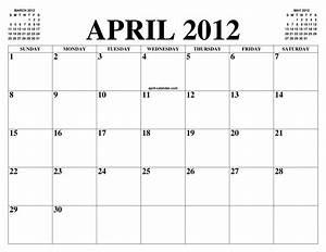 Calendar February 2020 January 2020 Printable April 2012 Calendar Of The Month Free Printable April