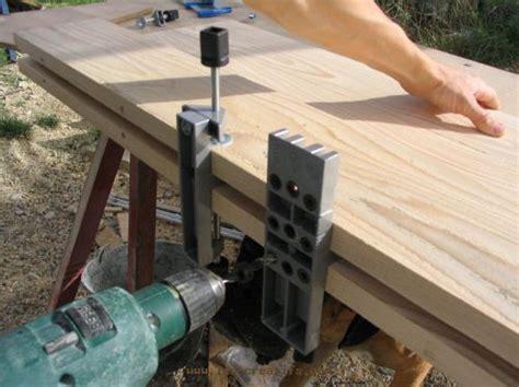 fabriquer une table commode 224 langer