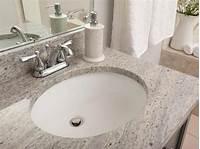 bathroom countertops with sink Bathroom Granite Countertop Costs | HGTV