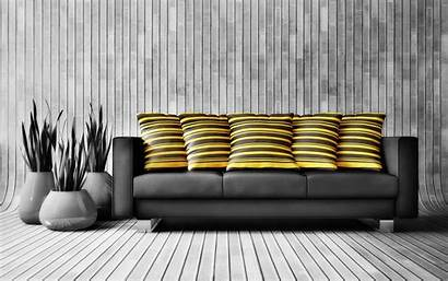 Yellow Couch Pillows Wallpaperup Selective Coloring Sign