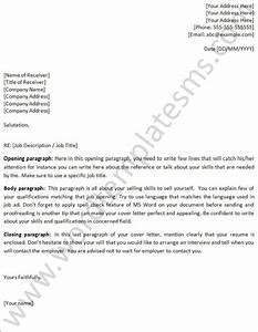 cover letter template word playbestonlinegames With best cover letter template word