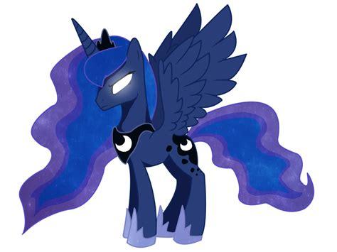 Princess Luna Angry Princess Luna By Slopmonster On