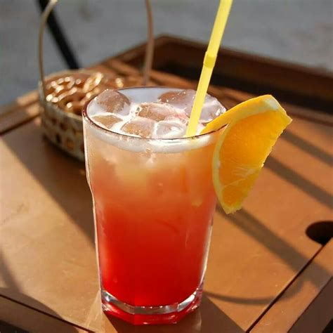 During winter, the beach parts to allow tidal streams to form. Malibu sunrise | Punch cocktails, Malibu sunrise, Spring ...