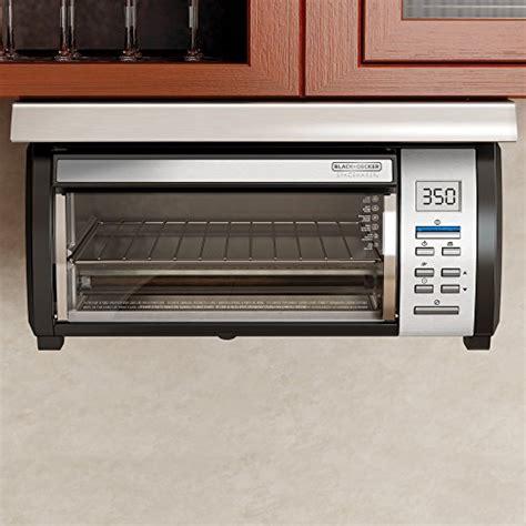 under cabinet 4 slice toaster black decker tros1000d spacemaker under the cabinet 4