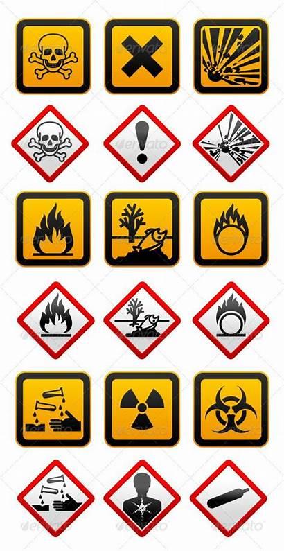 Symbols Hazard Safety Symbol Signs Health Warning