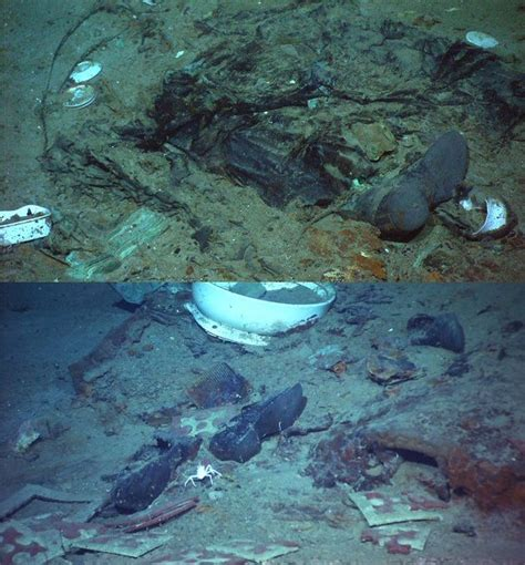 Titanic Boat Location by A Very Poignant Photo Of The Titanic Wreckage Titanic