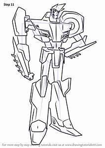 Learn How To Draw Sideswipe From Transformers
