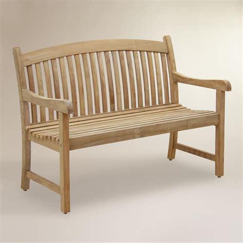 tiga teak garden bench world market