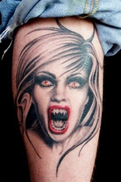 30 best Wicked Vampire Tattoos images on Pinterest | Vampire tattoo, Wicked and 3d tattoos