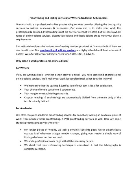 Esl Thesis Writers Service by Proofread And Edited Essay Exle Discussing Emloyment