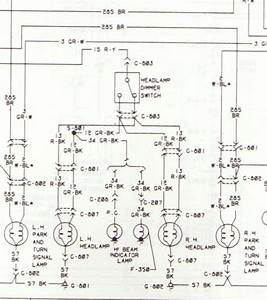 Wiring Diagram For High  Low Beam Switch