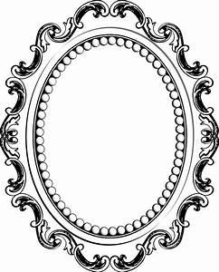 Cadre à Décorer : photos cadre baroque ovale dessin cadre d corer ~ Zukunftsfamilie.com Idées de Décoration