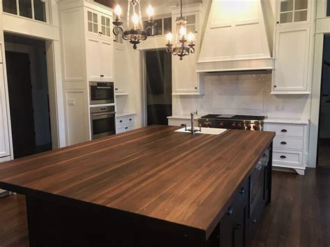 Canyon kitchen cabinets can assist with all remodeling projects. Walnut Countertop Kitchen Island Top - Solid Wood Butcher ...