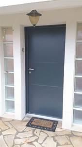 Devis Porte D Entrée : porte d 39 entr e aluminium mod le hermione d clic menuiserie ~ Melissatoandfro.com Idées de Décoration
