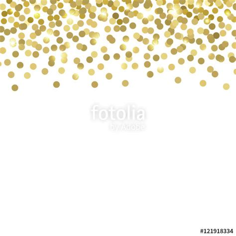 Gold Confetti Background Quot Gold Confetti Vector Background Quot Stock Image And
