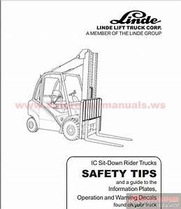 Linde Forklift 353