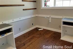 diy l shaped desk 16 wall braces small home soul