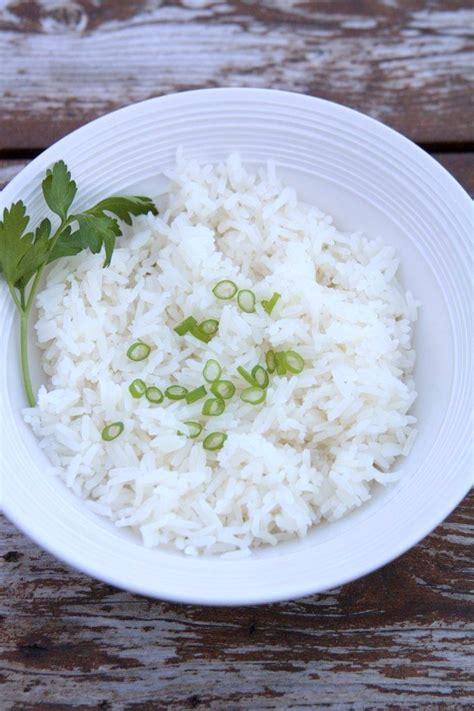 riz blanc manmie et tatie
