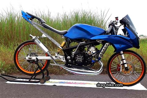 Tiger Modifikasi Drag by 44 Foto Gambar Modifikasi Motor Rr Drag Bike Racing