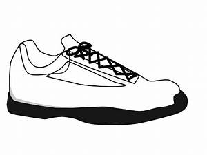 Clip Art Running Shoes - Cliparts.co