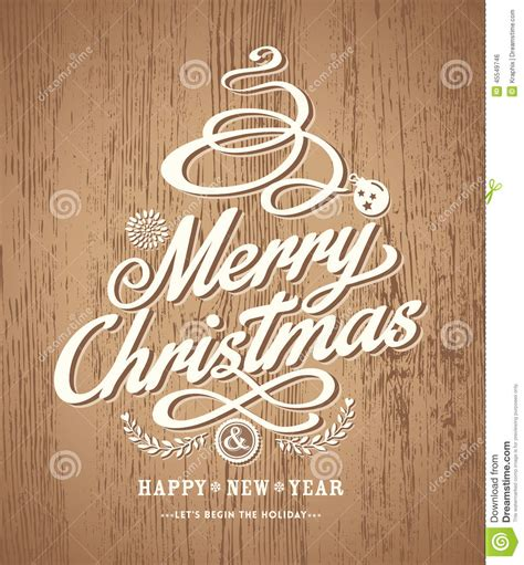 christmas card design on wood texture background stock vector image 45549746