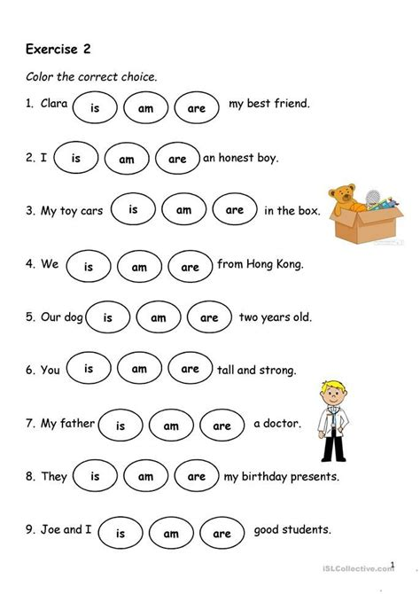 present simple verb   material escolar en ingles