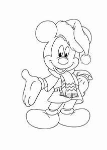 Mickey Mouse Christmas Coloring Pages Free Print ...
