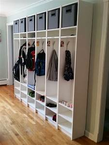 Ikea Hack Garderobe : ikea hack billy bookcases turned cubbies motherwood past projects pinterest ~ Eleganceandgraceweddings.com Haus und Dekorationen