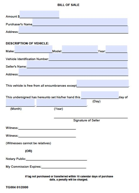 bill ofsale free county alabama bill of sale form pdf