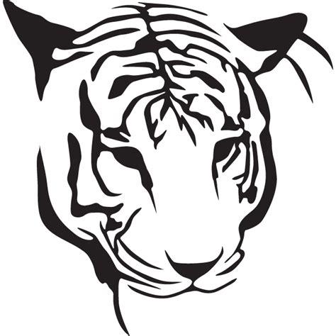 simple outline tiger head tattoo design tattooimagesbiz