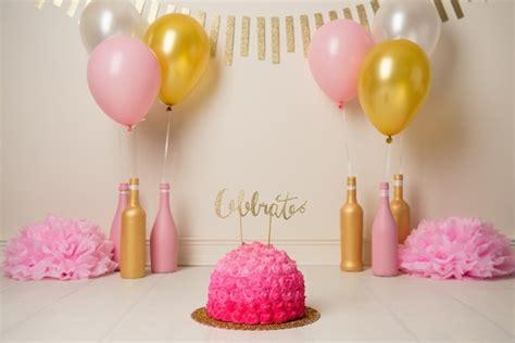thirtieth birthday cake smash pretty  party party ideas