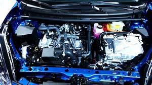 New 2018 Toyota Prius C  Compact Hybrid  Engine Bay Tour