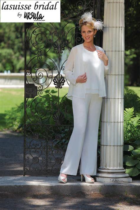 lasuisse bridal  ursula  wedding pant suit french