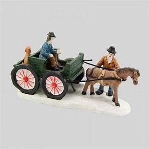 Personnage Pour Village De Noel : enfant en charrette village de noel eminza ~ Melissatoandfro.com Idées de Décoration