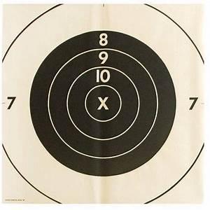Vintage Extra-Large Bullseye Target Poster liked on