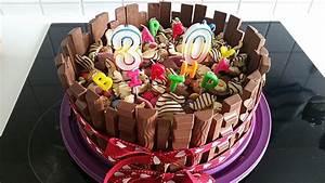 Candy Cake ein amerikanischer Kuchen mit Süßigkeiten (Rezept mit Bild) Chefkoch de