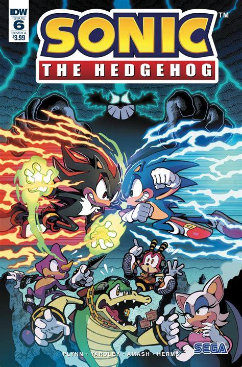 Sonic the Hedgehog #6   IDW Publishing