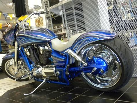 Buy Custom 2002 Honda Vtx 1800 Chopper One Of A Kind! On