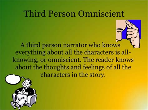 Third Person Limited Examples