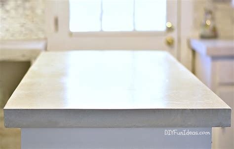 white concrete countertop how to make diy cast in place white concrete countertops
