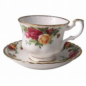 Tasse à Thé : tasse th avec soucoupe old country roses ~ Teatrodelosmanantiales.com Idées de Décoration