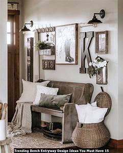Trending, Bench, Entryway, Design, Ideas, You, Must, Have