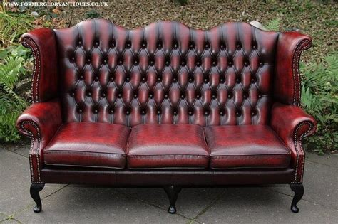 Leather Settee Repair by 20 Photos Leather Chesterfield Sofas Sofa Ideas