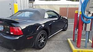 4th gen black 1999 Ford Mustang GT convertible For Sale - MustangCarPlace
