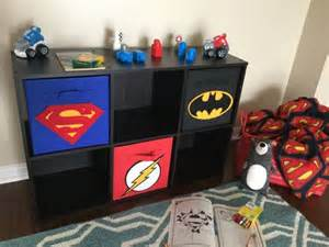 storage bins superhero and superman on pinterest