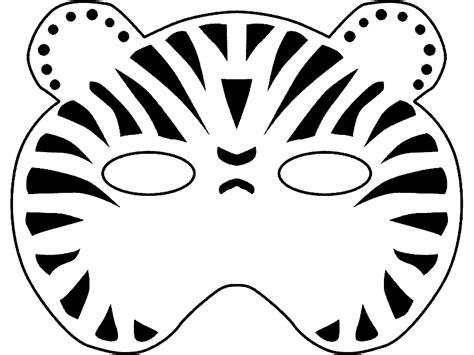 colorea mascaras de animales cibercuentos