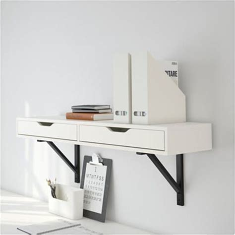 25 best wall mounted desk ikea ideas on pinterest